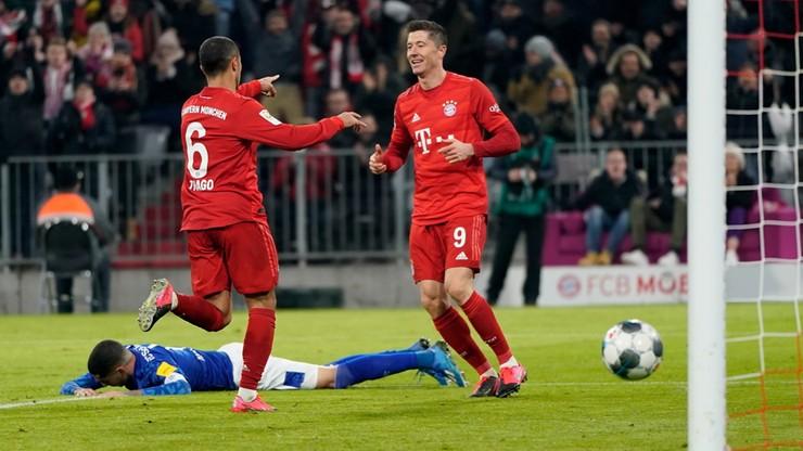 """Lewandowski po raz szósty w jedenastce kolejki """"Kickera"""""""