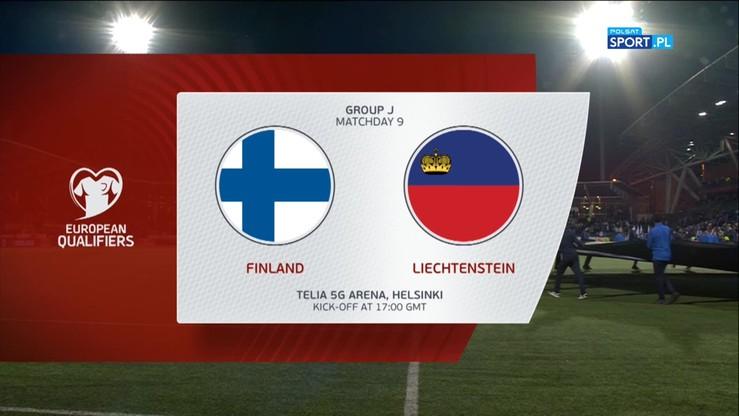 Finlandia - Liechtenstein 3:0. Skrót meczu