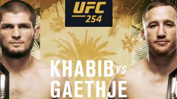 UFC 254: Khabib - Gaethje. Wyniki gali