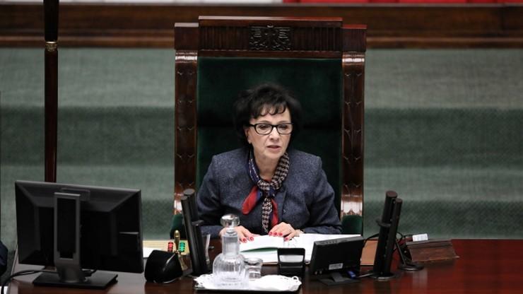 Sejmowe głosowanie ws. KRS. Poseł prawicy: marszałek Witek popełniła błąd