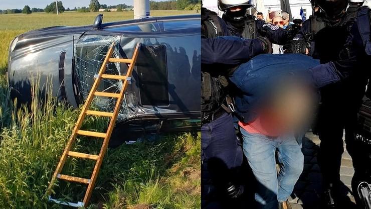 Wójt Żelazkowa miał rozbić się autem. To nie pierwszy zarzut wobec niego