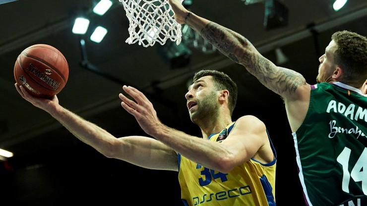 Puchar Europy: Arka Gdynia przegrała z Unikaja w defensywnym meczu