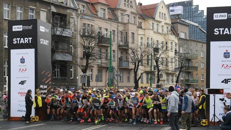 Półmaraton w Poznaniu odwołany z powodu koronawirusa