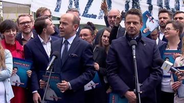 """Rafał Trzaskowski inauguruje kampanię wyborczą. """"Powiedzmy: mamy dość"""""""
