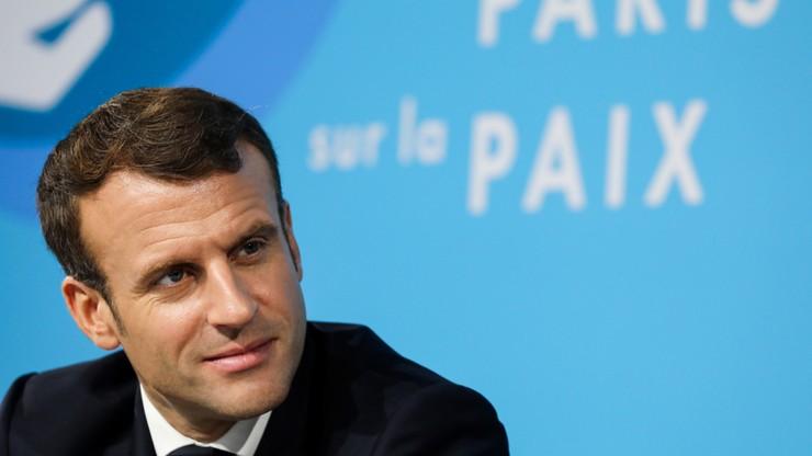 Macron i Trump rozmawiali telefonicznie o Syrii, Iranie i NATO