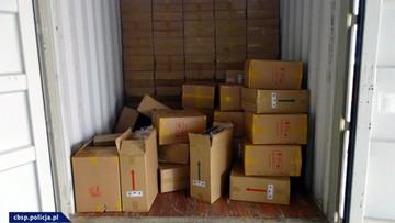 Udaremniono przemyt prawie 9 mln sztuk papierosów