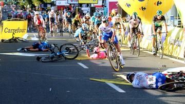 Tour de Pologne: Ruszyło śledztwo w sprawie wypadku na 1. etapie