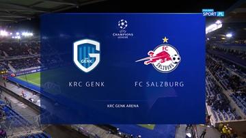 KRC Genk - FC Salzburg 1:4. Skrót meczu