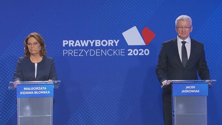 """""""Zasypywać podziały"""", """"stać po stronie słabszych"""". Debata prawyborcza w PO"""