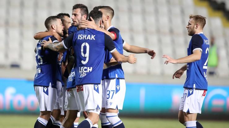 Liga Europy: Apollon Limassol - Lech Poznań 0:5. Skrót meczu (WIDEO)