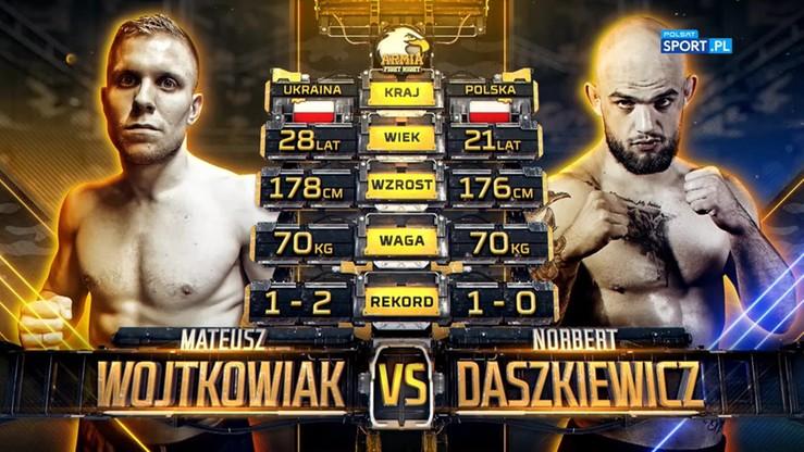 2019-10-05 Norbert Daszkiewicz - Mateusz Wojtkowiak. Skrót walki