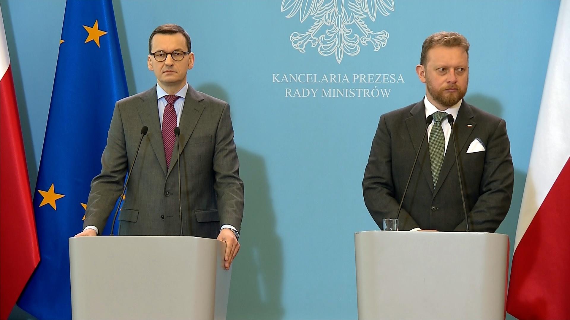 Minister Szumowski o liczbie przeprowadzanych testów na COVID-19