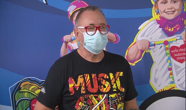 Jerzy Owsiak o swojej wizycie w Centrum Zdrowia Dziecka
